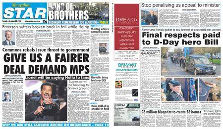 Shropshire Star Shrewsbury Edition – January 30, 2018