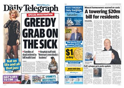The Daily Telegraph (Sydney) – August 23, 2019