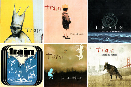 Train - Albums Collection 1998-2014 (9CD) [Re-Up]