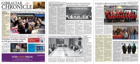 Gibraltar Chronicle – 12 December 2019