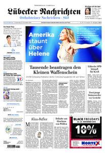 Lübecker Nachrichten Ostholstein Süd - 22. November 2018