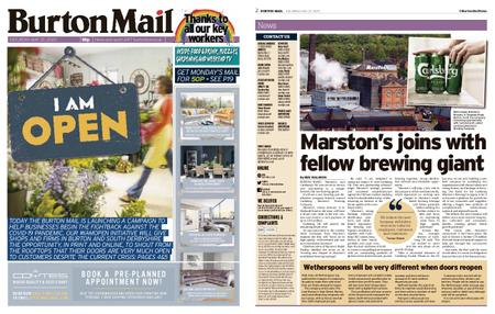 Burton Mail – May 23, 2020