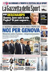 La Gazzetta dello Sport Roma – 10 ottobre 2018