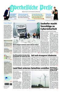 Oberhessische Presse Marburg/Ostkreis - 08. Januar 2019