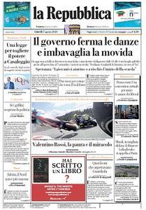 la Repubblica - 17 Agosto 2020