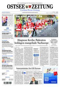 Ostsee Zeitung Wolgast - 13. November 2017