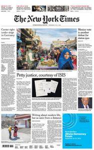 International New York Times - 04 July 2018