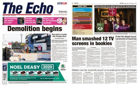 Evening Echo – November 13, 2019