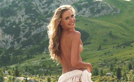 Julia Prokopy - German Playmate of the Month for October 2018 (video 2)
