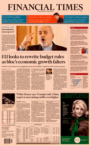 Financial Times Europe – 26 August 2019