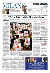 Corriere della Sera Milano – 26 novembre 2018