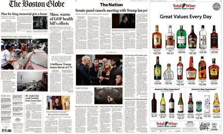 The Boston Globe – September 20, 2017