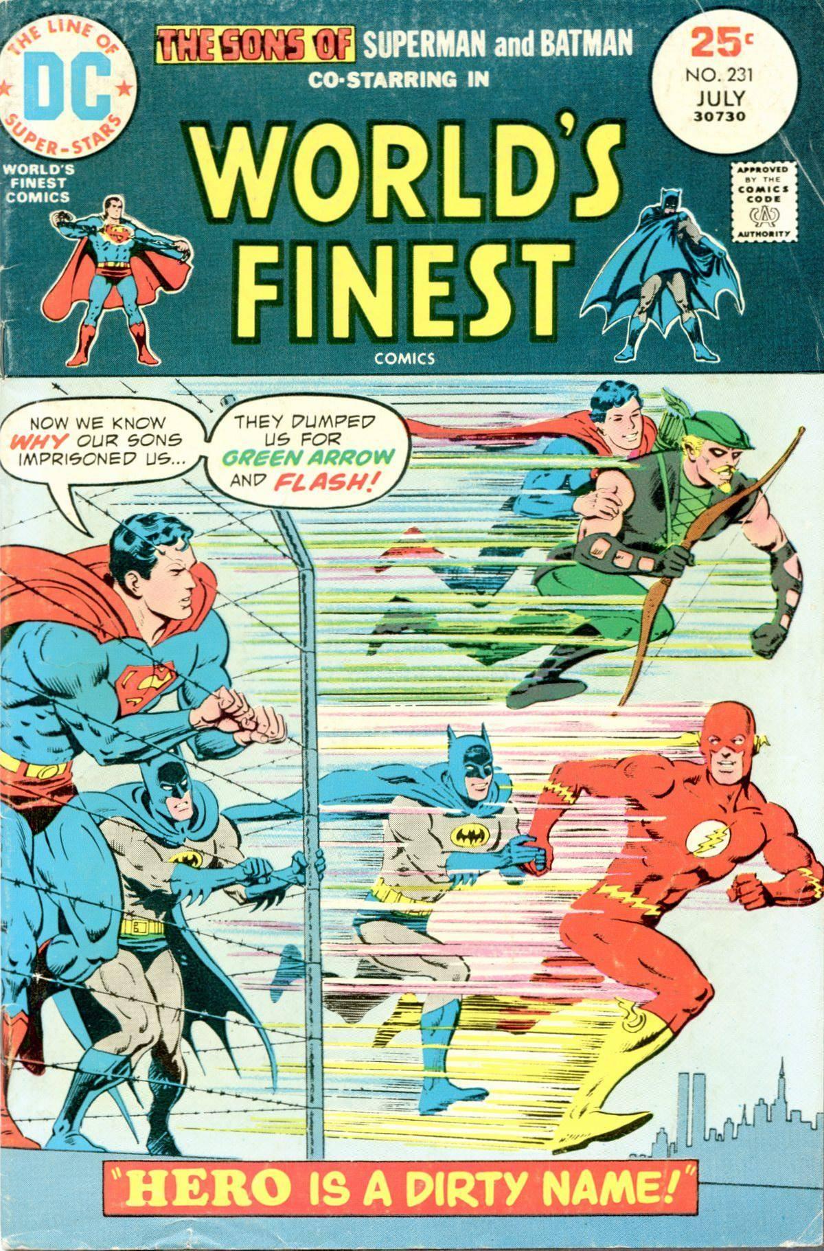 For tea - Worlds Finest Comics 231 cbr
