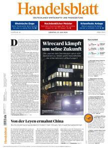 Handelsblatt - 23 Juni 2020