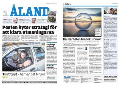 Ålandstidningen – 18 maj 2019
