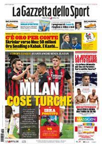 La Gazzetta dello Sport Roma – 25 settembre 2020