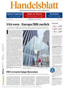 Handelsblatt - 25 Juni 2020