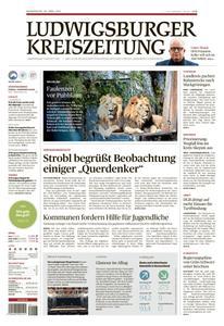 Ludwigsburger Kreiszeitung LKZ  - 29 April 2021