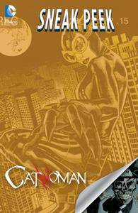 DC Sneak Peek - Catwoman 2015 Digital