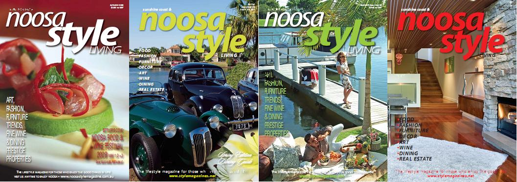Noosa Style Living Magazine Spring - Winter 2009 (All Issues)