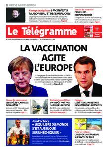 Le Télégramme Brest Abers Iroise – 06 janvier 2021
