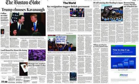 The Boston Globe – July 10, 2018