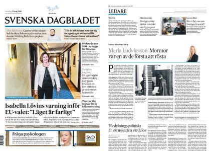 Svenska Dagbladet – 22 maj 2019
