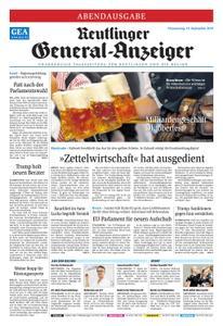Reutlinger General-Anzeiger - 19. September 2019