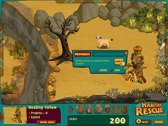 Habitat Rescue: Lion's Pride v1.0.0.8 Portable