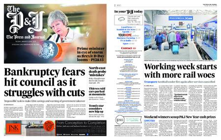 The Press and Journal Moray – January 15, 2019