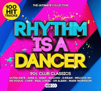 VA - Rhythm Is a Dancer: The Ultimate Collection (5CD, 2019)