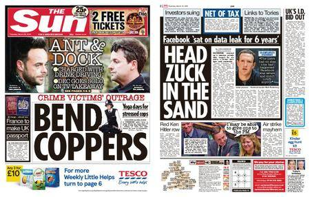The Sun UK – 22 March 2018