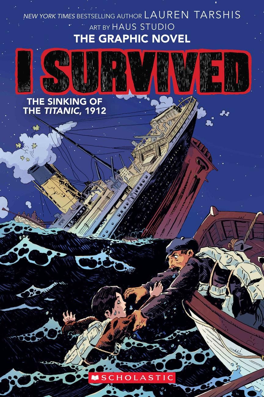 I Survived 01-The Sinking of the Titanic, 1912 2020 Digital Hourman