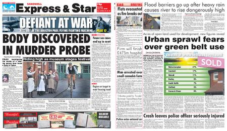 Express and Star Sandwell Edition – June 17, 2019