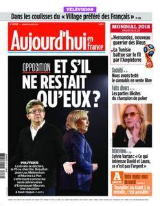 Aujourd'hui en France – 19 juin 2018