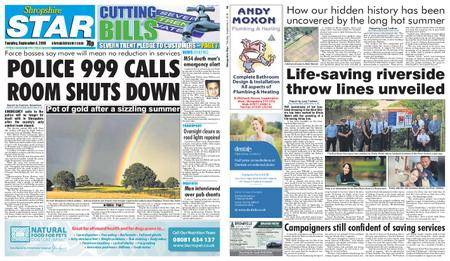 Shropshire Star Shrewsbury Edition – September 04, 2018