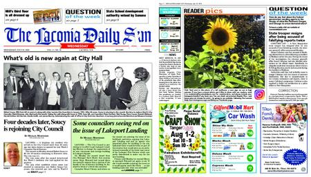 The Laconia Daily Sun – July 29, 2020