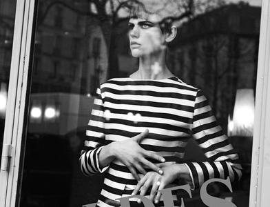 Saskia de Brauw by Peter Lindbergh for Interview Magazine March 2013