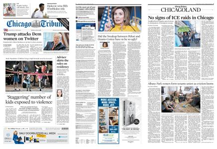 Chicago Tribune – July 15, 2019