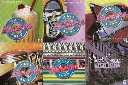 VA - Malt Shop Memories (2006) 10 CD Box Set [Re-Up]