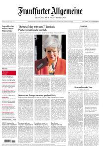 Frankfurter Allgemeine Zeitung F.A.Z. - 25. Mai 2019