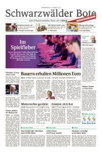 Schwarzwälder Bote Blumberg - 23. August 2018