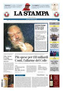 La Stampa Imperia e Sanremo - 12 Aprile 2019