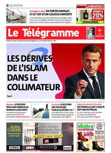 Le Télégramme Quimper – 03 octobre 2020
