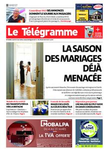 Le Télégramme Brest – 15 mars 2021