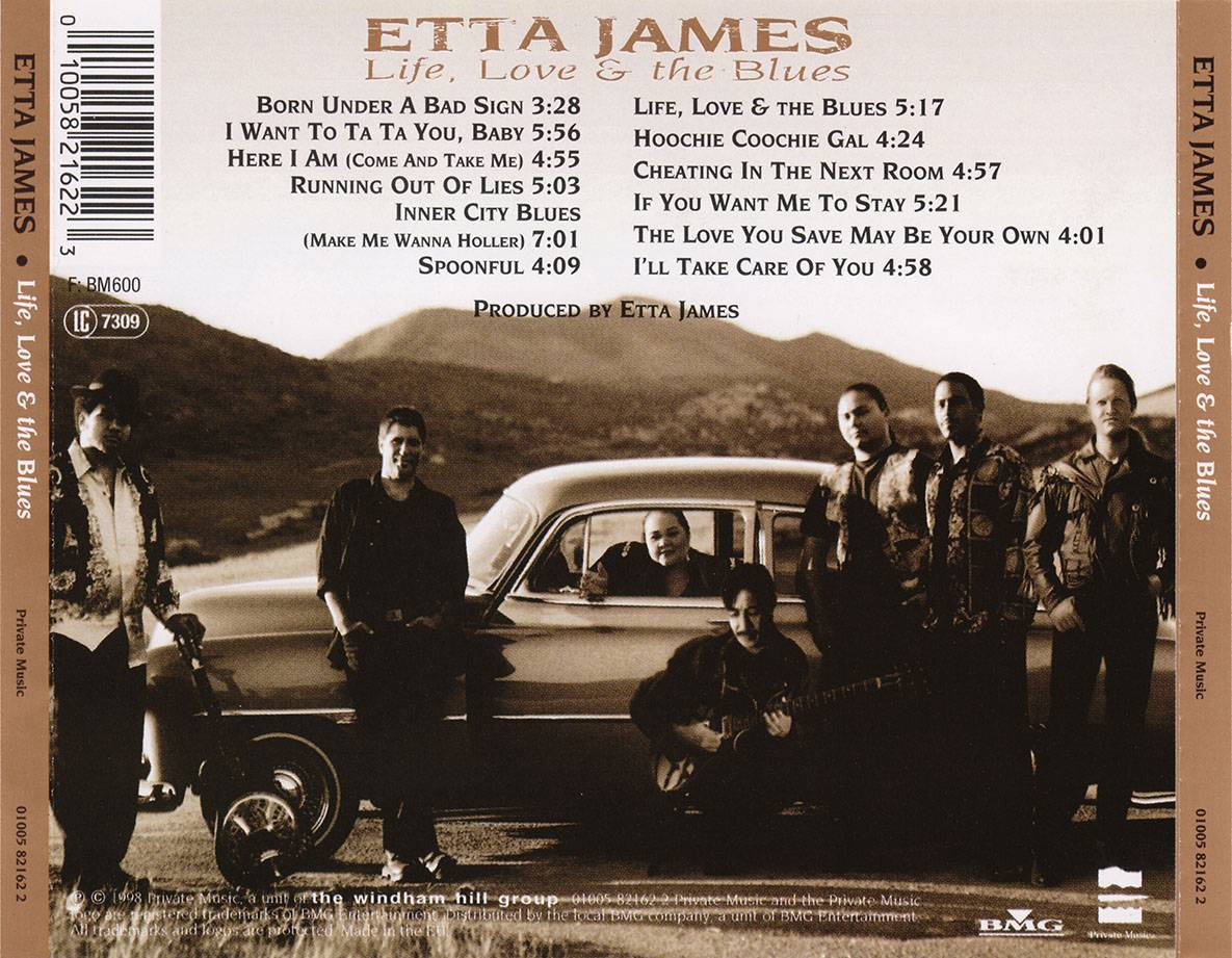 Etta James - Life, Love & The Blues (1998)
