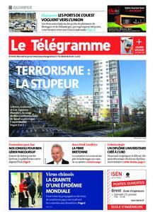Le Télégramme Quimper – 22 janvier 2020