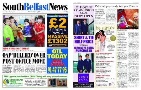 South Belfast News – February 09, 2018