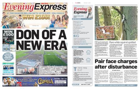 Evening Express – November 01, 2019