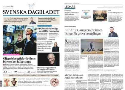 Svenska Dagbladet – 10 mars 2020